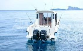 QUICKSILVER 905 PILOTHOUSE + 2x MERCURY F 225 V6 EFI EXLPT DTS
